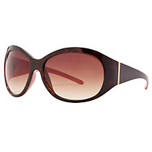 Buy John Lewis Contrast Oval Tort Sunglasses Online at johnlewis.com