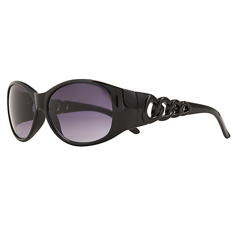 Buy John Lewis Chain Arm Detail Oval Frame Sunglasses Online at johnlewis.com