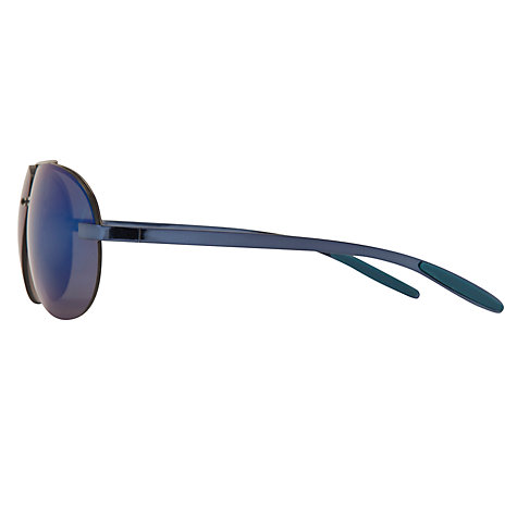 Buy John Lewis Rimless Aviator Sunglasses, Blue Online at johnlewis.com