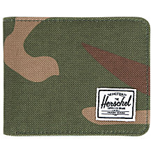 Buy Herschel Hank Wallet, Camouflage Online at johnlewis.com