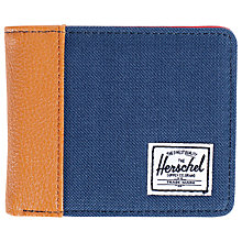 Buy Herschel Edward Bifold Wallet, Navy Online at johnlewis.com