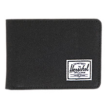 Buy Herschel Hank Wallet, Black Online at johnlewis.com