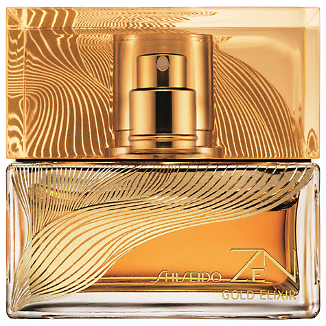 Buy Shiseido Zen Gold Elixir Eau de Parfum Absolue, 50ml Online at johnlewis.com