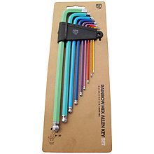 Buy Blb Rainbow Allen Keys Set Online at johnlewis.com