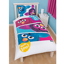 Buy Furby Single Duvet Cover and Pillow Set, Multi Online at johnlewis.com