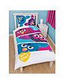 Furby Single Duvet Cover and Pillow Set, Multi