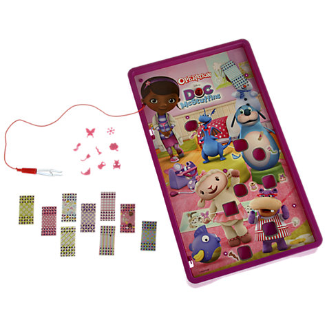 Buy Doc McStuffins Operation Game Online at johnlewis.com