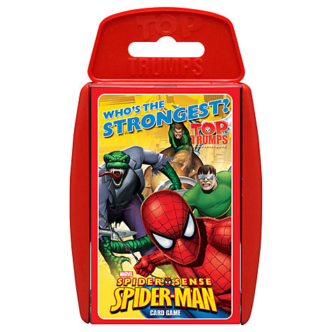 Buy Spider-Man Top Trumps Game Online at johnlewis.com