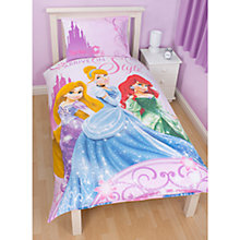 Buy Disney Princess Single Duvet Cover and Pillow Set, Multi Online at johnlewis.com