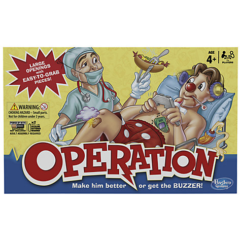 Buy MB Games Operation Game Online at johnlewis.com