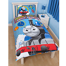 Buy Thomas the Tank Engine Single Duvet Cover and Pillow Set, Blue/Multi Online at johnlewis.com