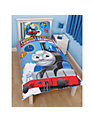 Thomas the Tank Engine Single Duvet Cover and Pillow Set, Blue/Multi