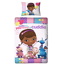 Buy Doc McStuffins Single Duvet Cover and Pillow Set, Multi Online at johnlewis.com