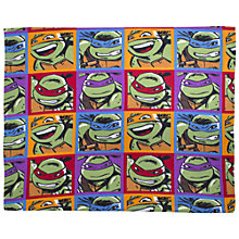 Buy Teenage Mutant Ninja Turtles Fleece Blanket, Multi Online at johnlewis.com