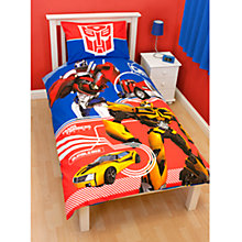 Buy Transformers Duvet Cover and Pillow Set, Multi Online at johnlewis.com