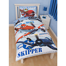 Buy Disney Planes Dusty Duvet Cover and Pillow Set, Multi Online at johnlewis.com