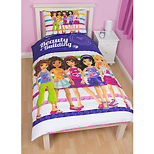 Buy LEGO Friends Single Duvet Cover and Pillow Set, Multi Online at johnlewis.com