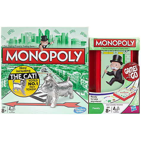 Buy Monopoly Board Game and Monopoly Travel Set Online at johnlewis.com