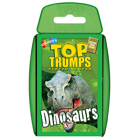 Buy Dinosaur Top Trumps Game Online at johnlewis.com