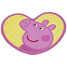 Buy Peppa Pig Rug, Pink/Yellow Online at johnlewis.com