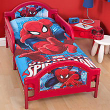 Buy Spider-Man Junior Duvet Cover and Pillow Set, Red/Blue Online at johnlewis.com