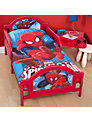 Spider-Man Junior Duvet Cover and Pillow Set, Red/Blue