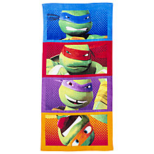 Buy Teenage Mutant Ninja Turtles Towel, Multi Online at johnlewis.com