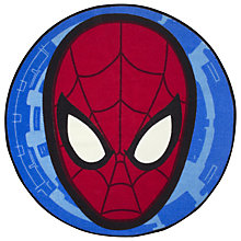 Buy Spider-Man City Rug, Red/Blue Online at johnlewis.com