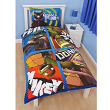 Buy Teenage Mutant Ninja Turtles Cover and Pillow Set, Multi Online at johnlewis.com