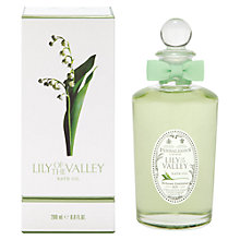 Buy Penhaligon's Lily of the Valley Bath Oil, 50ml Online at johnlewis.com