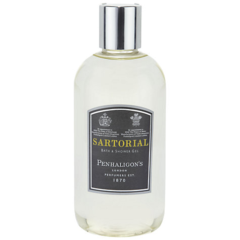 Buy Penhaligon's Sartorial Bath & Shower Gel, 300ml Online at johnlewis.com