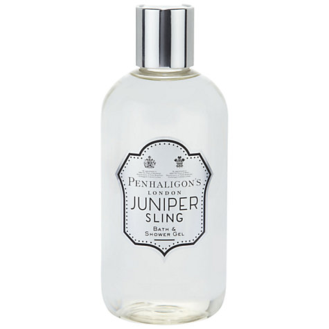 Buy Penhaligon's Juniper Sling Bath & Shower Gel, 300ml Online at johnlewis.com