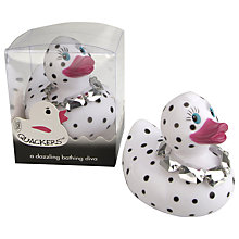 Buy Opal Diamante Bath Duck Online at johnlewis.com