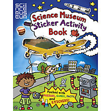 Buy Science Museum Sticker Activity Book Online at johnlewis.com