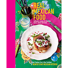 Buy Real Mexican Food Book Online at johnlewis.com