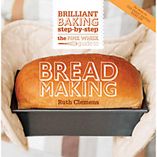 Buy Pink Whisk Guide To Bread Making Book Online at johnlewis.com