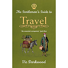 Buy A Gentleman's Guide To Travel Book Online at johnlewis.com