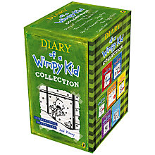 Buy Diary of a Wimpy Kid 7 Book Set Online at johnlewis.com