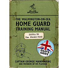 Buy Dad's Army Home Guard Training Manual Book Online at johnlewis.com