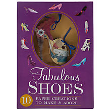 Buy Fabulous Shoes: Paper Creations Book Online at johnlewis.com