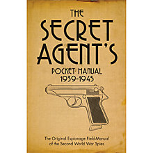 Buy The Secret Agent's Pocket Manual Book Online at johnlewis.com