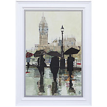 Buy Gallery One, Tom Butler - Southbank Reflections Signed Limited Edition Framed Print on Canvas, 70 x 54cm Online at johnlewis.com