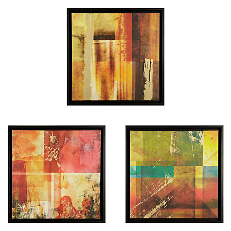 Buy Gallery One Colourscape Prints on Canvas, Set of 3, 55 x 55cm Online at johnlewis.com