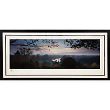 Buy Gallery One, Gregg Sedgwick - View from Richmond Hill Signed Limited Edition Framed Print, 69 x 147cm Online at johnlewis.com