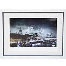 Buy Gallery One, Alex Saberi - Gotham London Signed Limited Edition Framed Print, 84 x 104cm Online at johnlewis.com