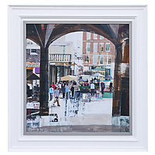Buy Gallery One, Tom Butler - Apple Market Covent Garden Signed Limited Edition Framed Print on Canvas, 70 x 54cm Online at johnlewis.com