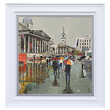 Buy Gallery One, Tom Butler - British Summer Time Signed Limited Edition Framed Print on Canvas, 83 x 83cm Online at johnlewis.com