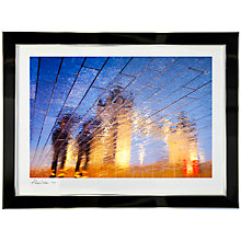 Buy Gallery One, Alex Saberi - Golden Towers Signed Limited Edition Framed Print, 64 x 78cm Online at johnlewis.com