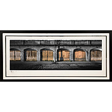 Buy Gallery One, Gregg Sedgwick - Six Boathouses Signed Limited Edition Framed Print, 69 x 147cm Online at johnlewis.com