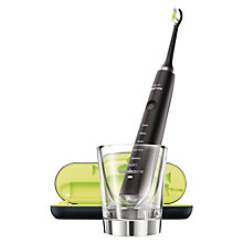 Buy Philips Sonicare HX9352/04 DiamondClean Electric Toothbrush, Black Online at johnlewis.com
